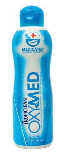 TropiClean OxyMed Medicated Pet Shampoo