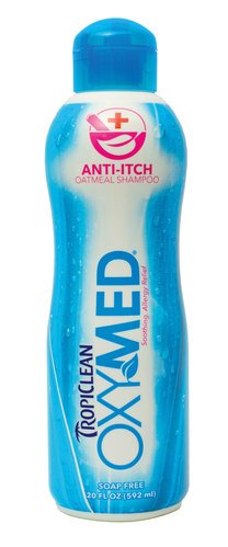 TropiClean OxyMed Anti-Itch Pet Shampoo