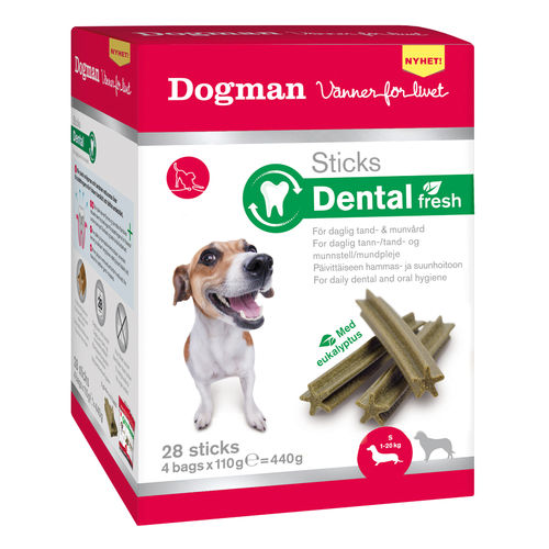 Dogman Sticks Dental Fresh Box 28 kpl