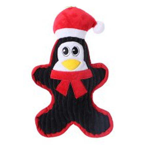Chuckle City Plush Toy with Squeaker Penguin