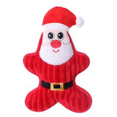 Chuckle City Plush Toy with Squeaker Santa