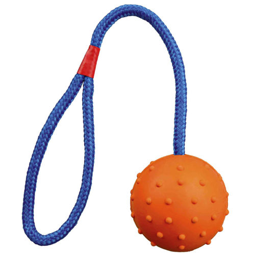 Trixie Ball on a Rope - 7 cm