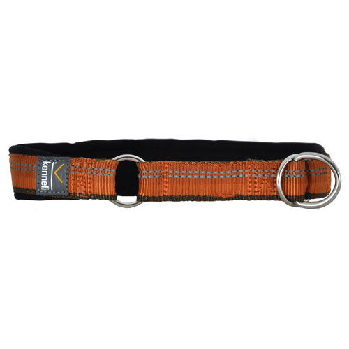 Kennel Equip Half Choke Dog Collar Active, Orange