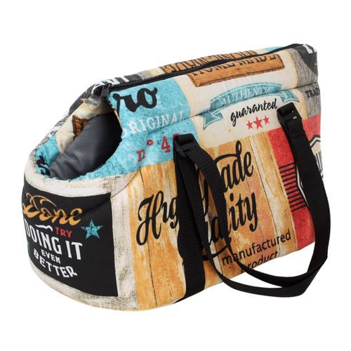 Pride Vintage Dog Carrier Bag