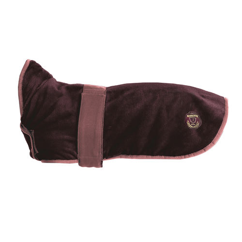 Jacson Super Soft Softile Dog Coat Burgundy