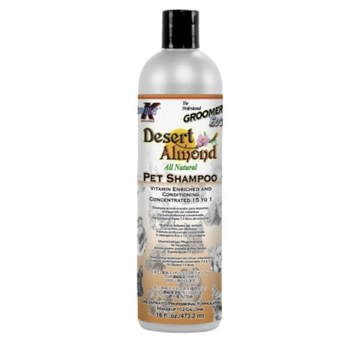 Double K Groomer's Edge Desert Almond Mantelishampoo